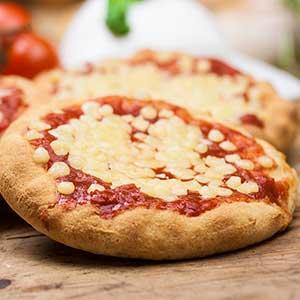 Gluten free pizza of Il Ristoro dello Sciatore