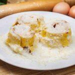 Gluten free rosette pasta of Il Ristoro dello Sciatore